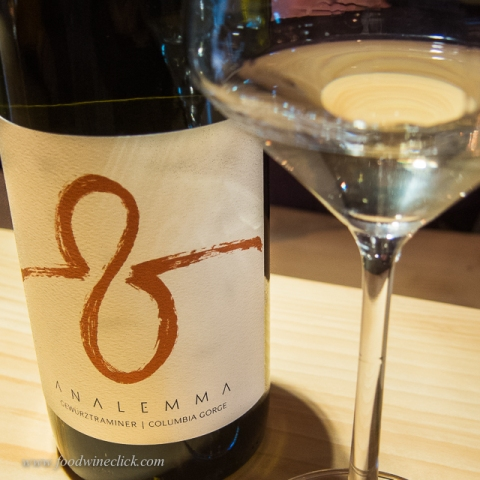 Gewurtztraminer - lean, great acidity and just a touch of sweetness