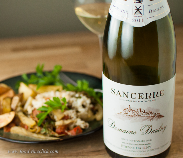 Sancerre for a light fish in parchment