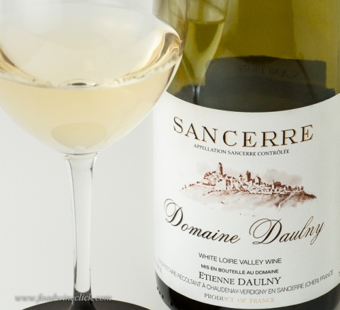 Sancerre - Sauvignon Blanc from the village of Sancerre