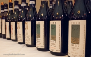 A full lineup of Poderi Ruggeri Corsini wines
