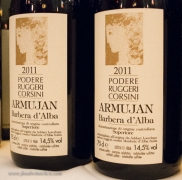 "Barbera d'Alba ""Armujan"", their rich, ripe, smooth Barbera. ""Superiore"" indicates the wine is aged in oak, this wine can be held for several years. Julie's favorite Barbera."