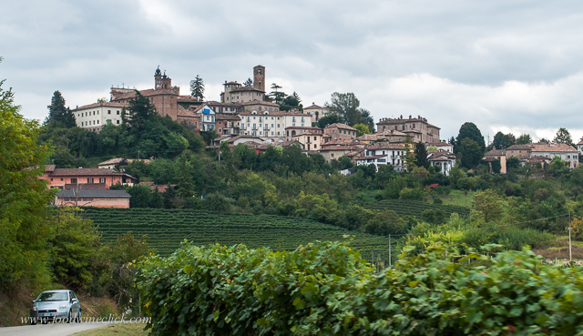 We stayed in Neive, one of the 3 towns in the Barbaresco district.