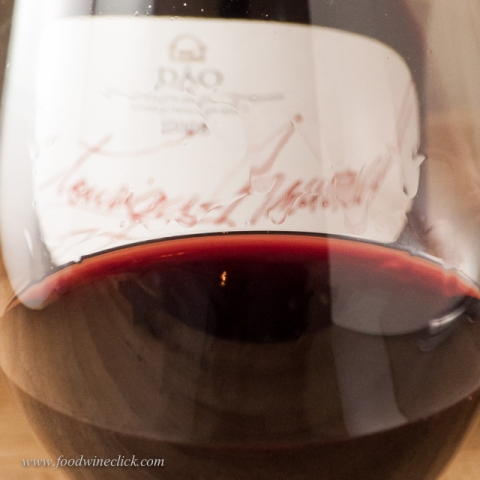 Touriga Nacional: super dark red with a beautiful rim color
