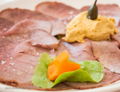 Vitello tonnato is a classic primi - first course