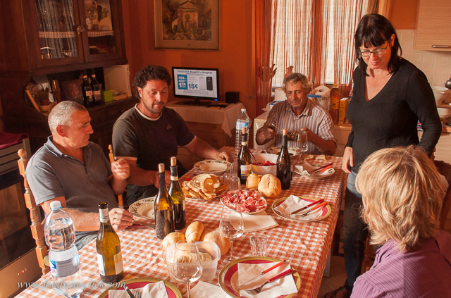 Cook a harvest lunch for a hungry winery crew!