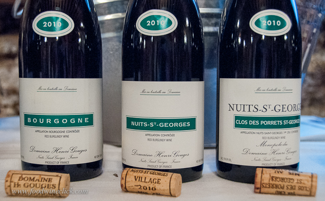 One producer, one vintage, zoom in from basic Bourgogne Rouge, to Village, to 1er Cru