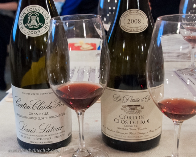 Grand Cru Burgundy wines