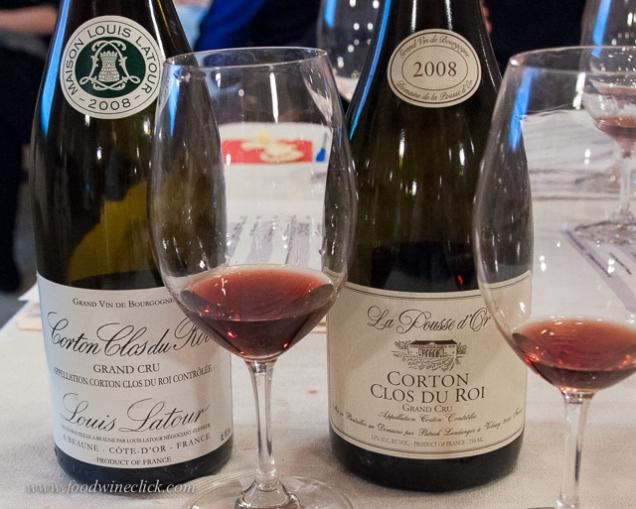 Grand Cru Burgundy wines