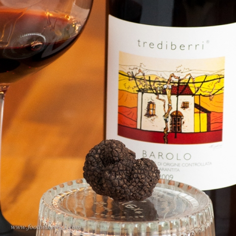 Trediberri Barolo: intense partner perfect for a rich, earthy meal.