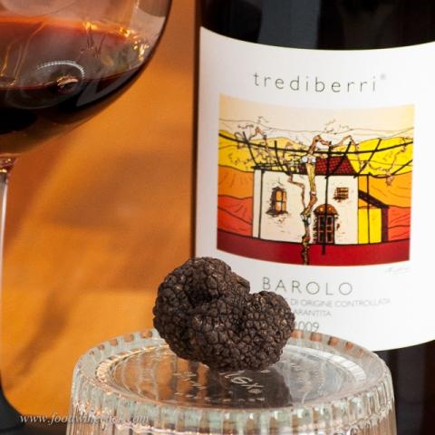 Trediberri Barolo: intense partner perfect for a rich, earthy meal.
