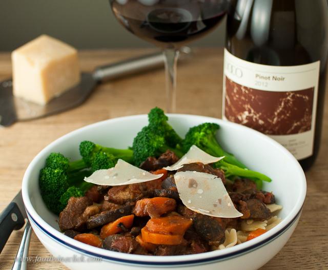goat stew daube lioco pinot noir