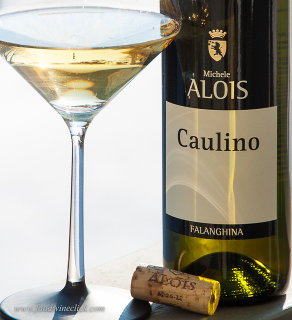 Vini Alois Falanghina: full body with bright acidity