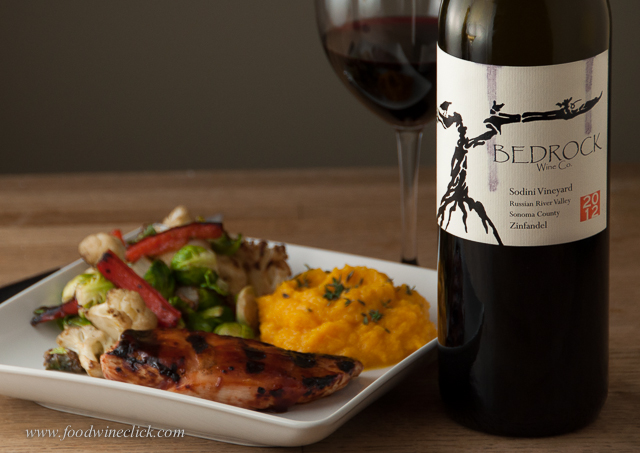 Bedrock zinfandel chicken barbecue bbq