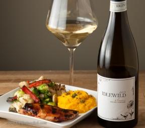 Idlewild Arneis barbecue chicken