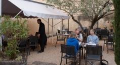 FX restaurant patio Ste. Cecile les Vignes