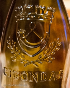 Embossed bottles are typical for several of the Southern Rhone villages