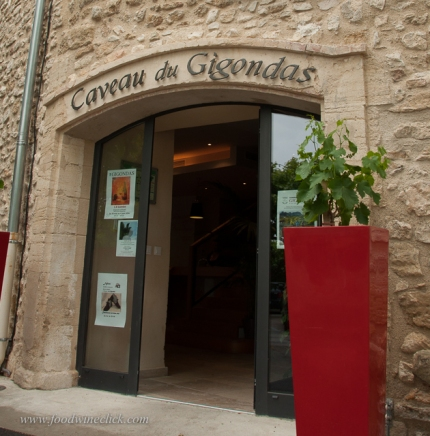 The Caveau du Gigondas provides a great introduction to Gigondas wineries.