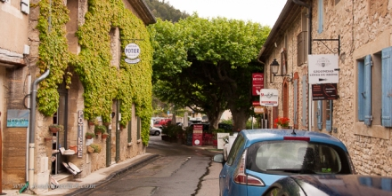 Gigondas is a pretty little town with restaurants, art shops and tasting rooms.