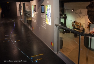 Recently renovated, the displays are modern and up to date.