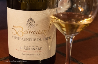The Boisrenard wines are produced from the oldest vines, typically 80 years old. White CdP has always been important at Domaine de Beaurenard.