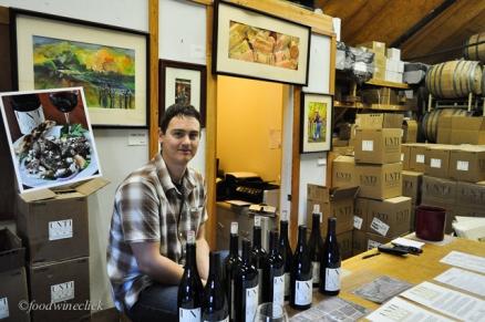 Alex at Unti Vineyards