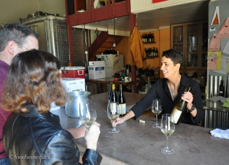 Susan Larossa, one of my first winery friends