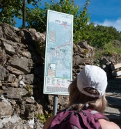 Hiking trails vary from moderate to challenging