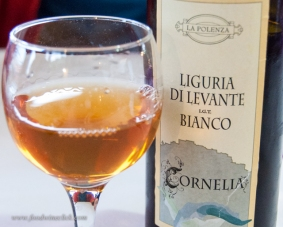 Surprise! A skin fermented Cinque Terre Orange wine.