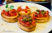 Bruschetta 4 ways
