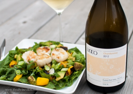 Not your garden variety California Chardonnay