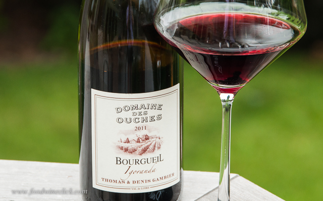 Cabernet Franc from the Loire - medium body is nice in the summer