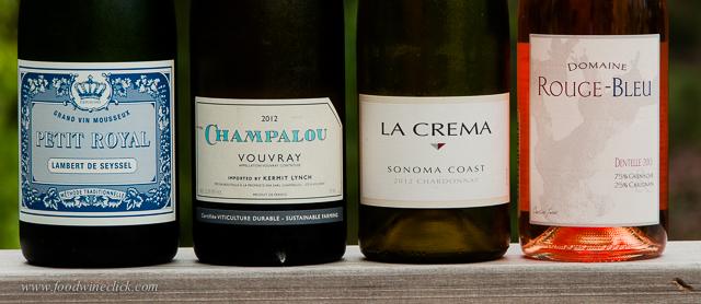 Sparkling wine, whites & rosé