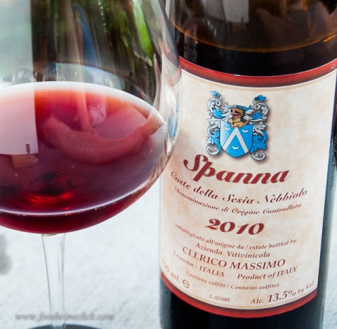 Spanna is another of the many names of the Nebbiolo grape