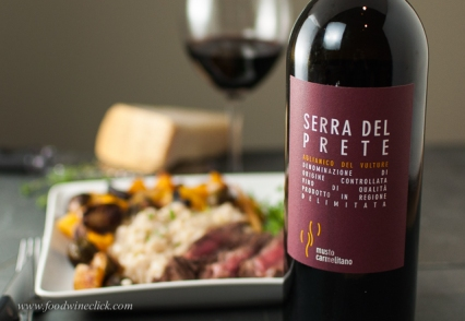 Think rich dishes when pairing with Aglianico