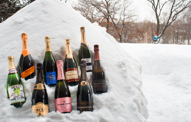 Yep, we chill our wines out in the snow.  Be careful, -15 F can be a little too cold!