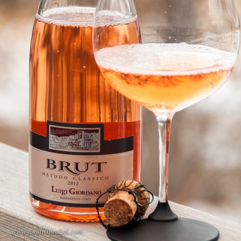 Sparkling Nebbiolo Rosé from the Piemonte in Italy