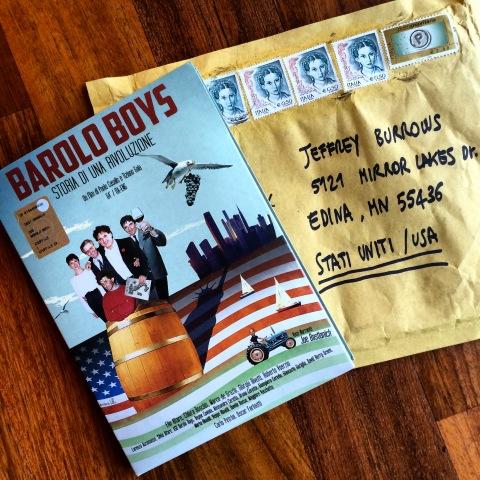 Barolo Boys all the way from Italy