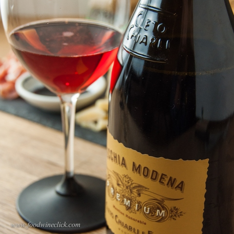 Lambrusco Secco - bright fruit, dry, frizzante