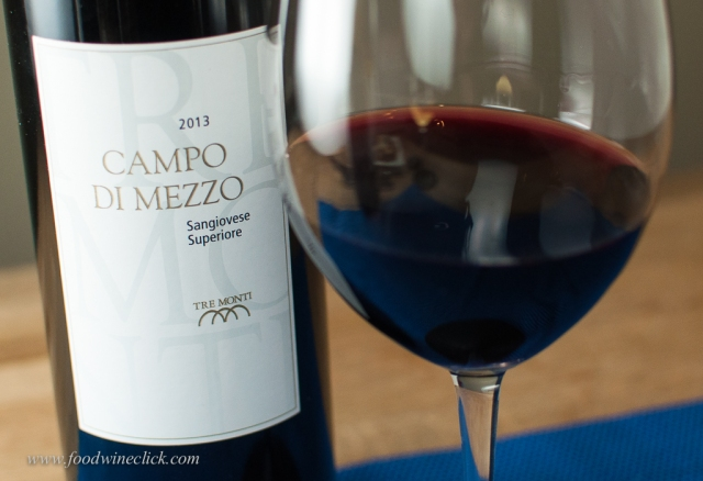 Campo di Mezzo was full of bright red fruit flavors.
