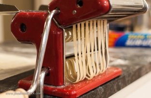 Every time you make pasta, you'll learn a little more by feel.
