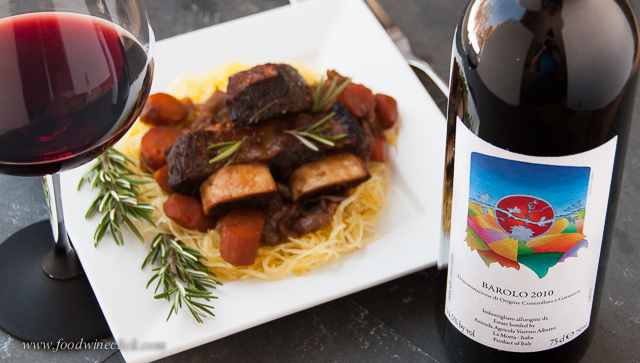As fits the secondo, you choose a top wine to accompany the dish