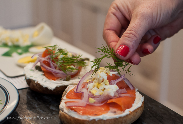 Quick preparation allows time together out of the kitchen
