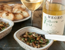 Arneis paired beautifully with this very earthy appetizer http://bit.ly/17Ca3ng