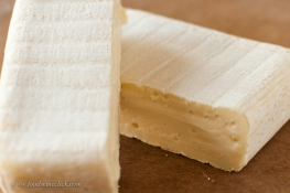Keep the cheese refrigerated until you are ready to cut.
