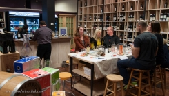 Real Wine Republic offers a nice, intimate space for a small group