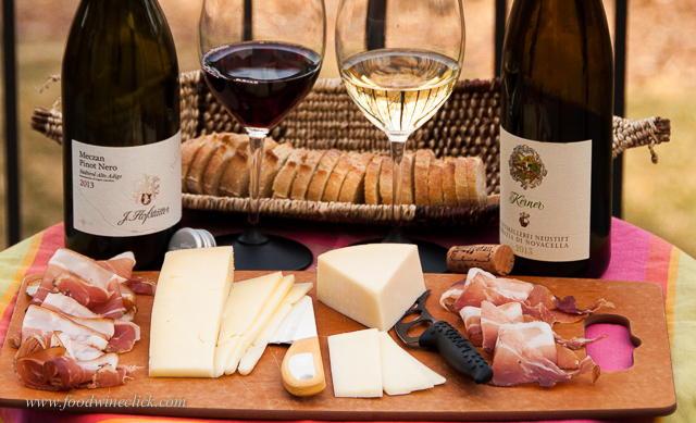 Apertivo from the Northeastern region of Trentino - Alto Adige