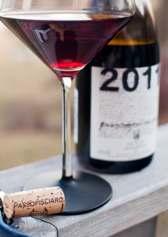 During our virtual tour, we almost exclusively drink wines from the region. 100% Nerello Mascalese, the Passopisciaro reminded me of a nice Pinot Noir