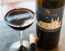 This Nero d'Avola is big, deep, dark and luscious. It was a beautiful wine, and would be good with a super rich meat, maybe barbecued ribs. I would like to have tried it with the lamb chops, maybe next time!