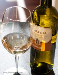 A previous experience: Verdicchio dei Castelli di Jesi - Excellent choice with seafood