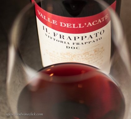 Also in Vittoria, this Valle dell'Acate Frappato is a refreshing light body red wine and it takes a bit of a chill beautifully